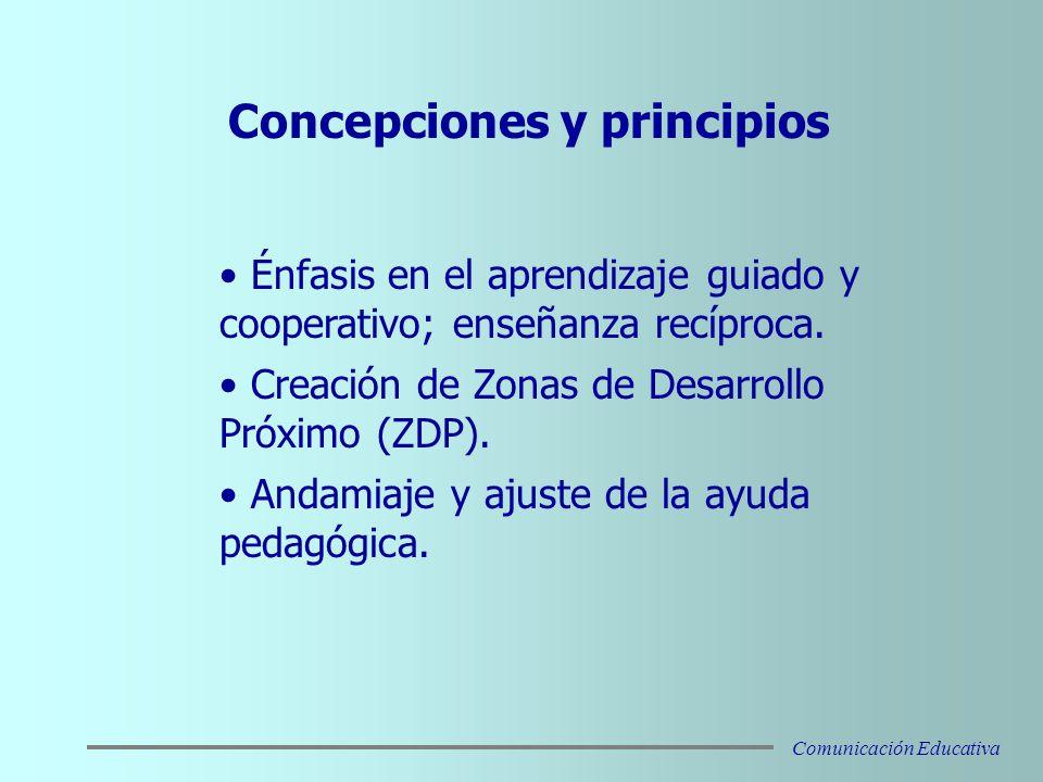Concepciones y principios