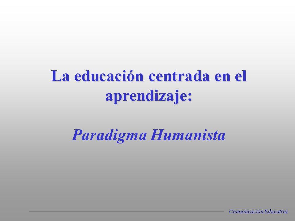 La educación centrada en el aprendizaje: