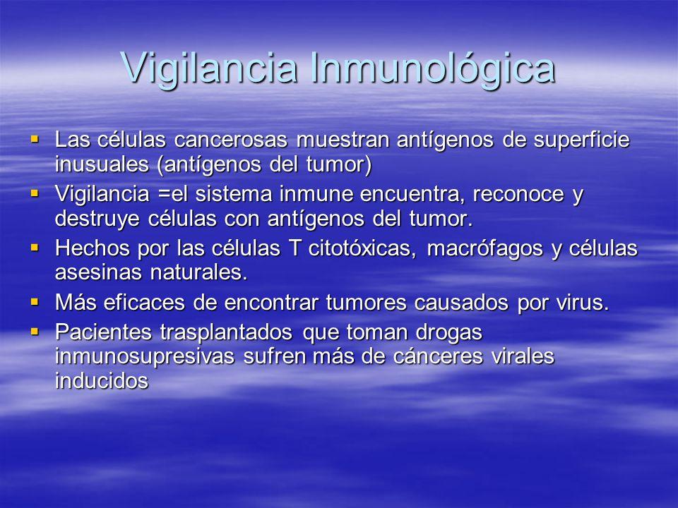 Vigilancia Inmunológica