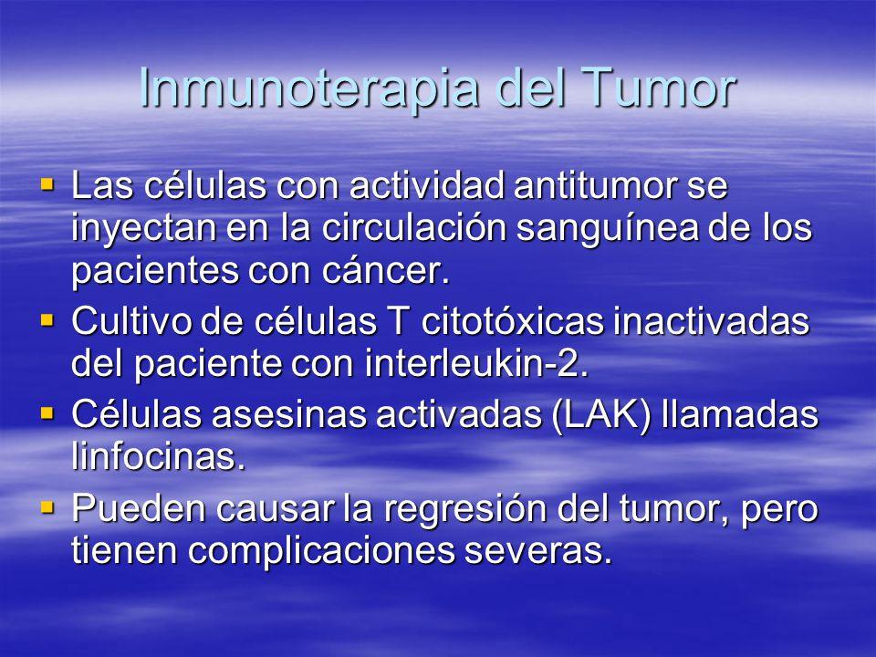 Inmunoterapia del Tumor