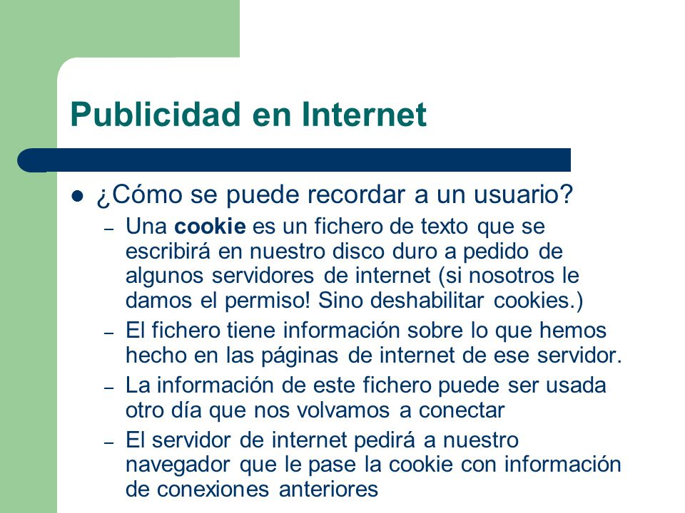 Publicidad en Internet