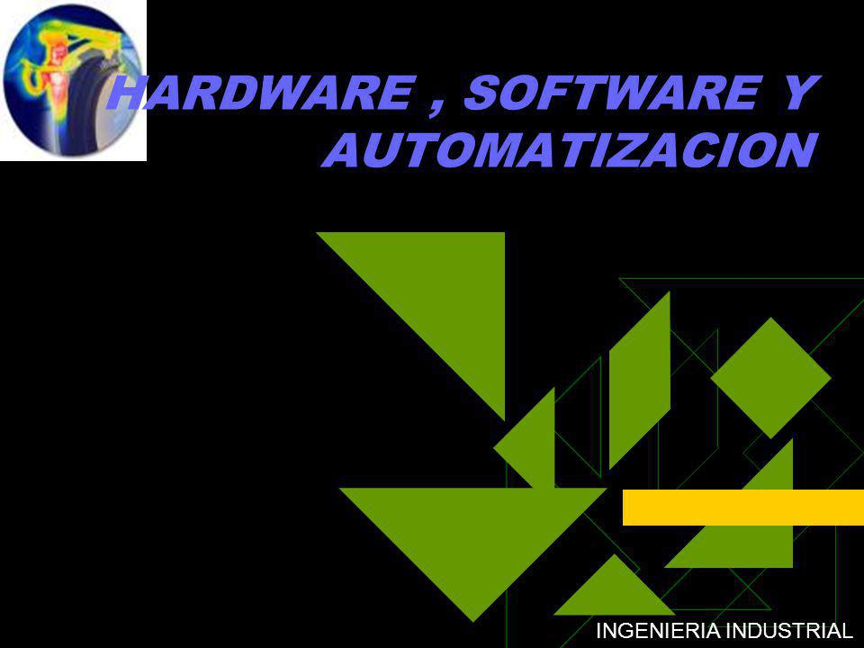HARDWARE , SOFTWARE Y AUTOMATIZACION