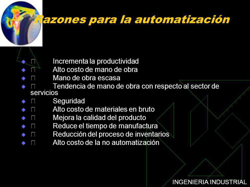 Razones para la automatización