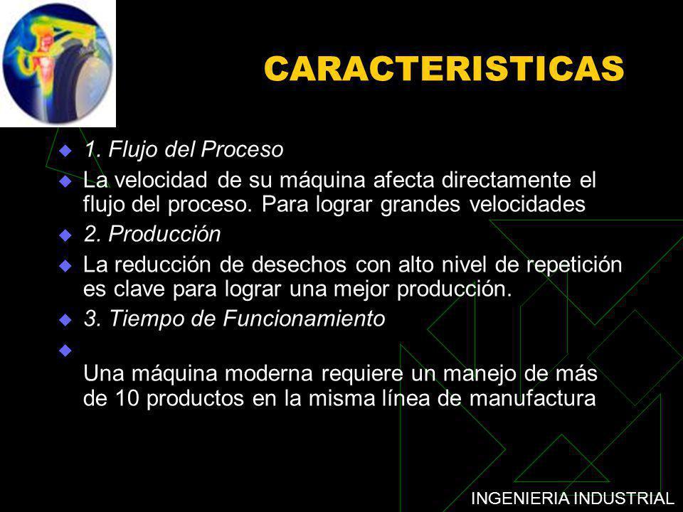 CARACTERISTICAS 1. Flujo del Proceso
