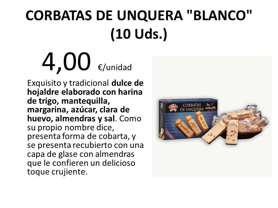 CORBATAS DE UNQUERA BLANCO (10 Uds.)