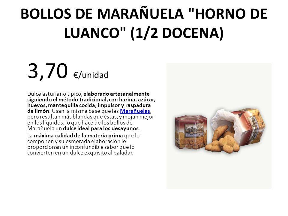 BOLLOS DE MARAÑUELA HORNO DE LUANCO (1/2 DOCENA)