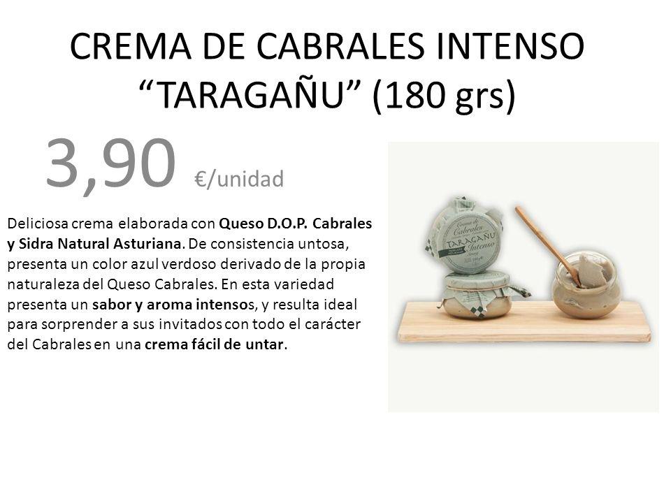 CREMA DE CABRALES INTENSO TARAGAÑU (180 grs)