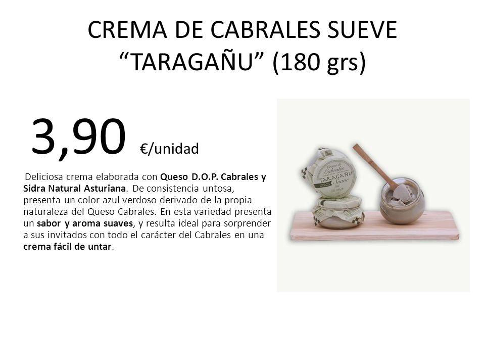 CREMA DE CABRALES SUEVE TARAGAÑU (180 grs)