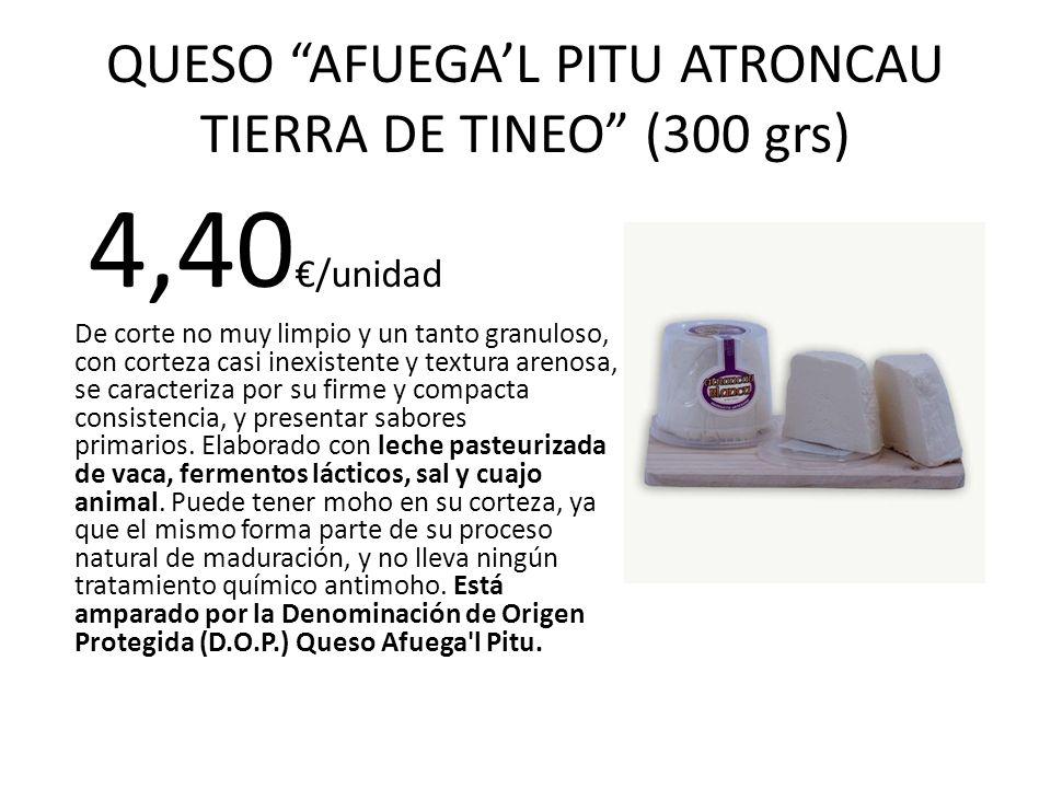 QUESO AFUEGA'L PITU ATRONCAU TIERRA DE TINEO (300 grs)