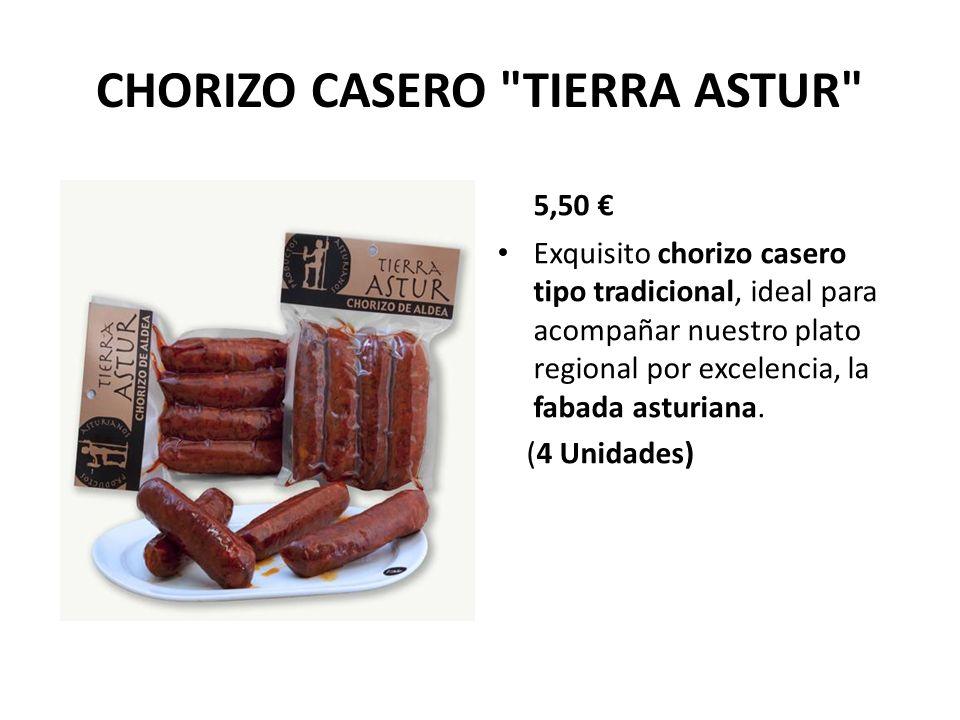 CHORIZO CASERO TIERRA ASTUR