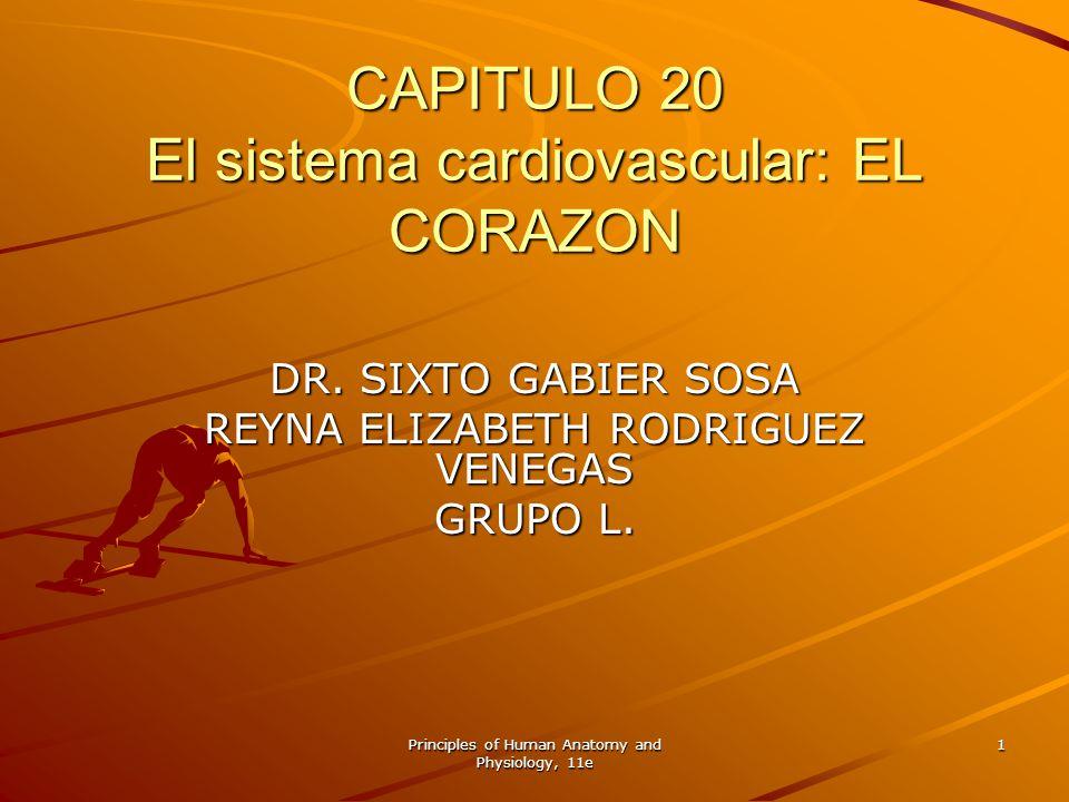 CAPITULO 20 El sistema cardiovascular: EL CORAZON