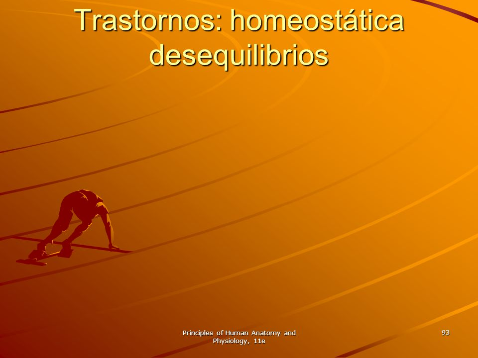 Trastornos: homeostática desequilibrios