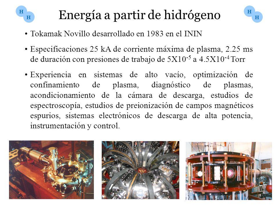 Energía a partir de hidrógeno