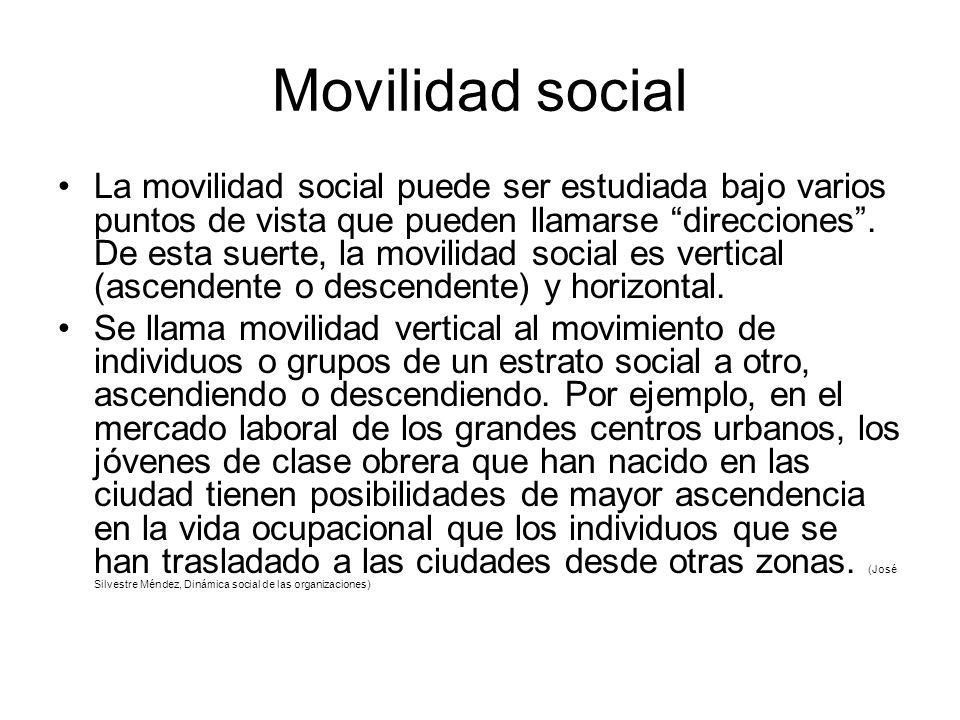 Movilidad social