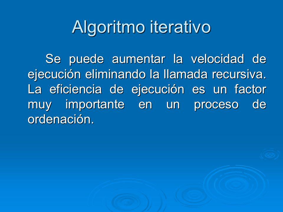Algoritmo iterativo