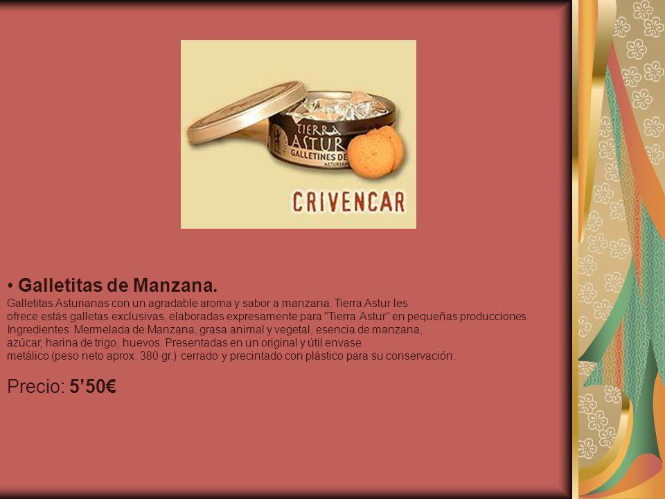 Galletitas de Manzana. Precio: 5'50€