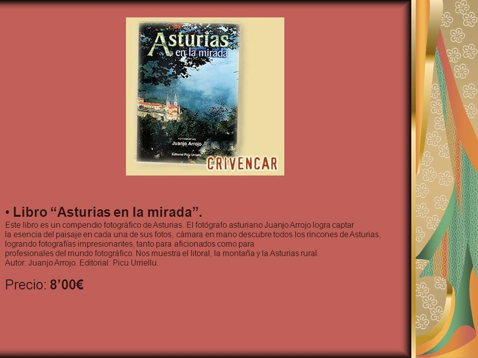 Libro Asturias en la mirada .