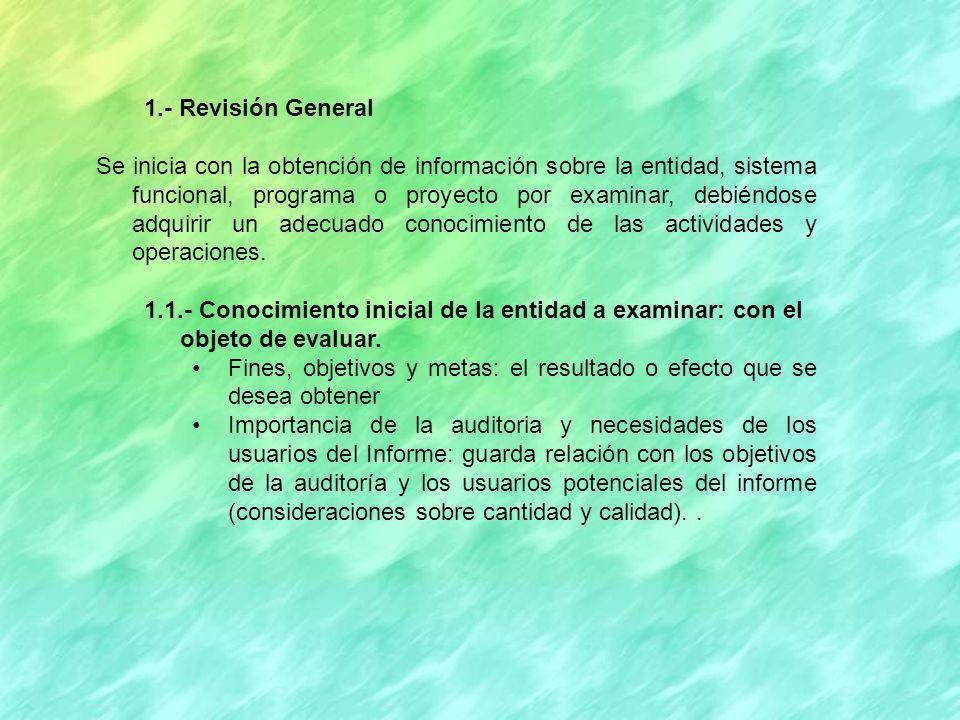 1.- Revisión General