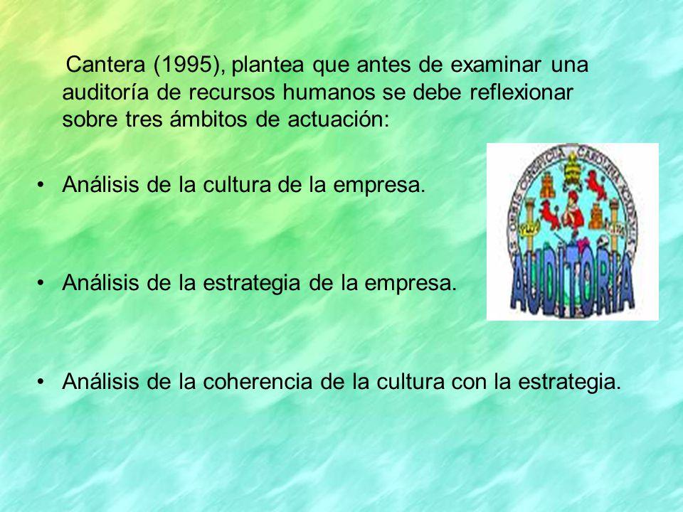 Análisis de la cultura de la empresa.