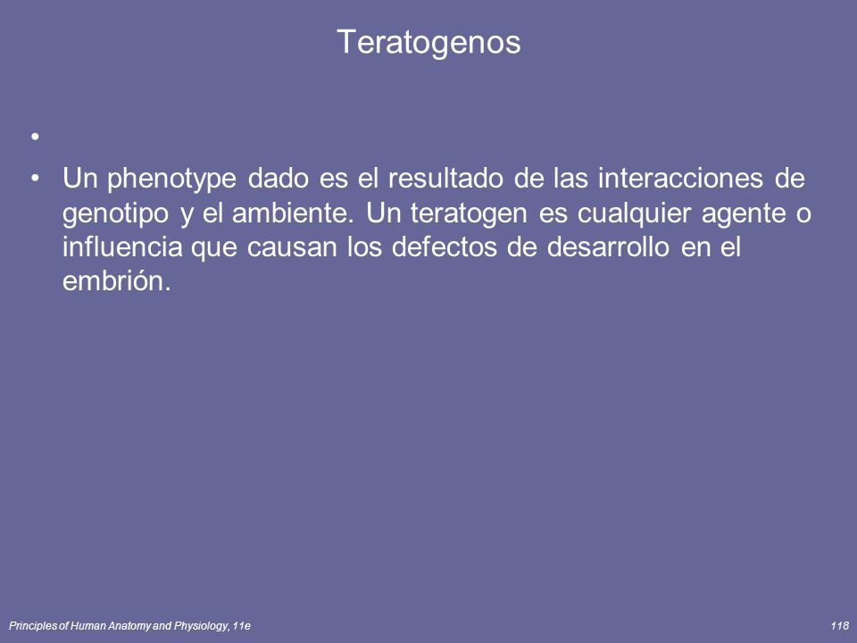 Teratogenos