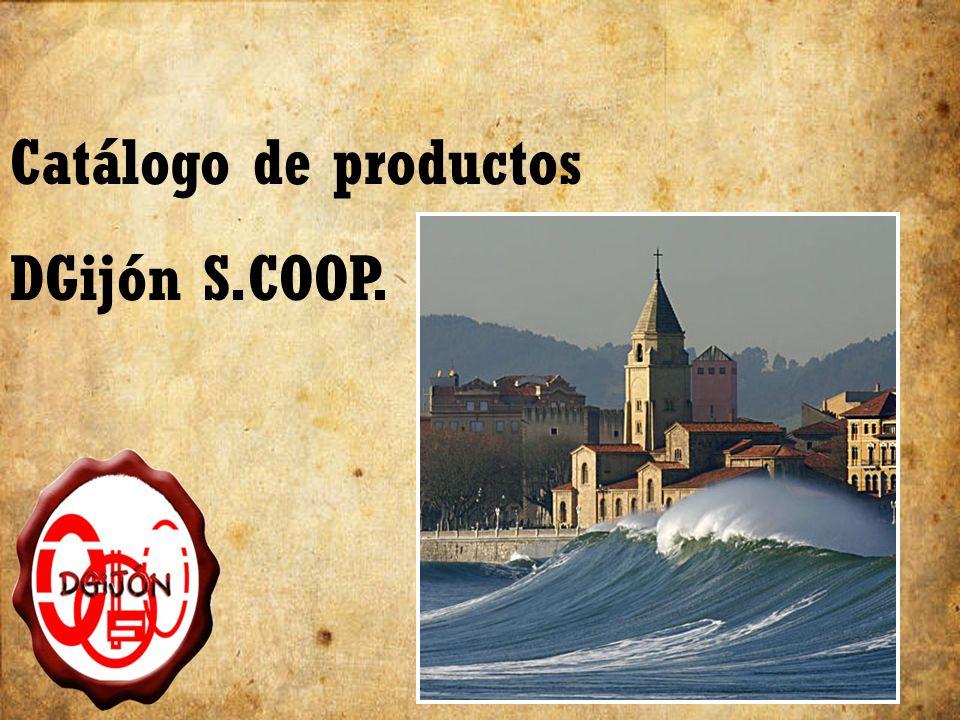 Catálogo de productos DGijón S.COOP.