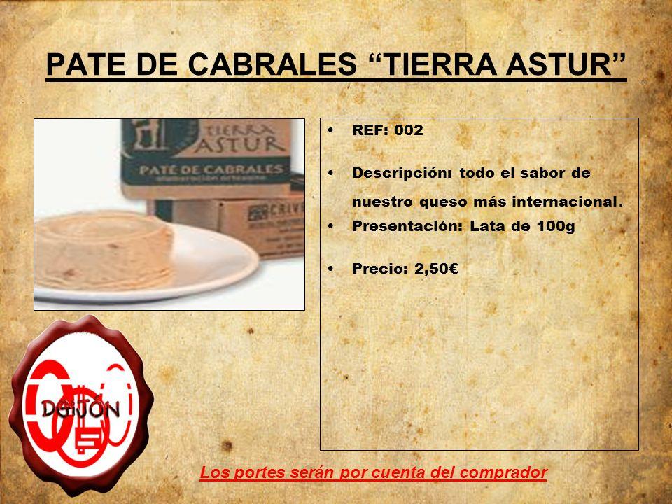 PATE DE CABRALES TIERRA ASTUR