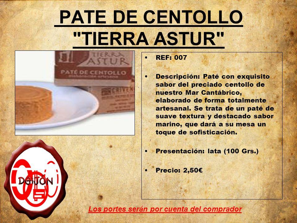 PATE DE CENTOLLO TIERRA ASTUR
