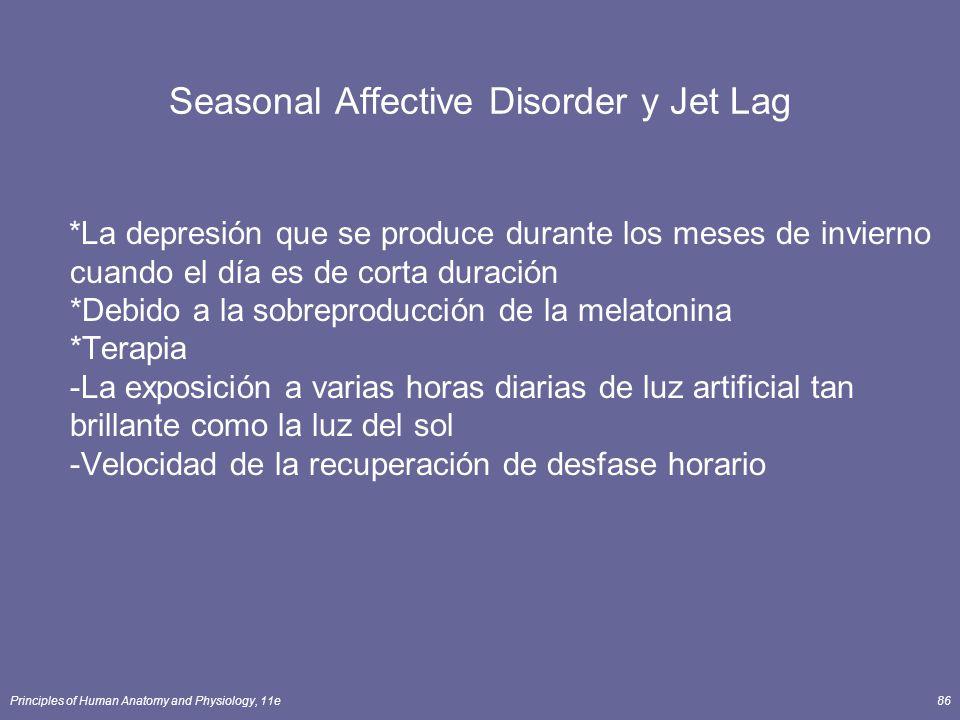 Seasonal Affective Disorder y Jet Lag