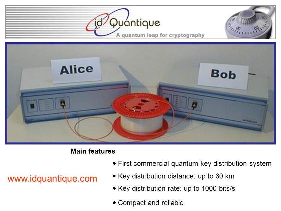 www.idquantique.com Main features