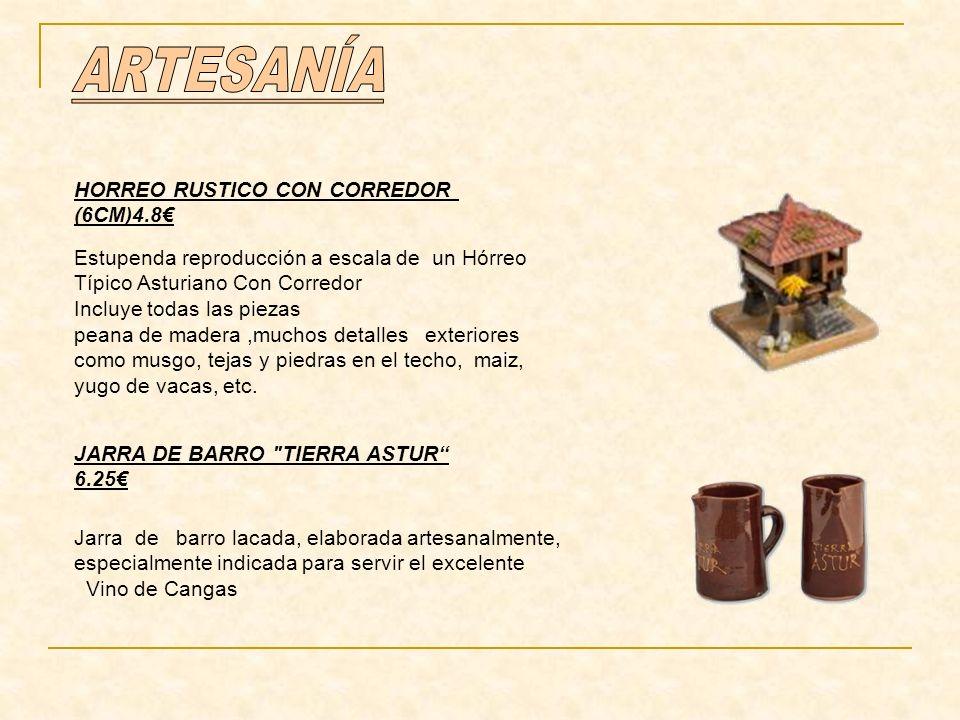 ARTESANÍA HORREO RUSTICO CON CORREDOR (6CM)4.8€