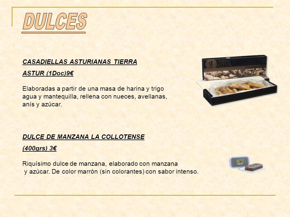 DULCES CASADIELLAS ASTURIANAS TIERRA ASTUR (1Doc)9€