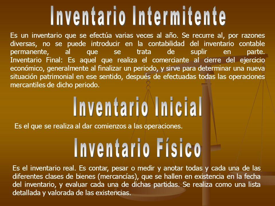 Inventario Intermitente