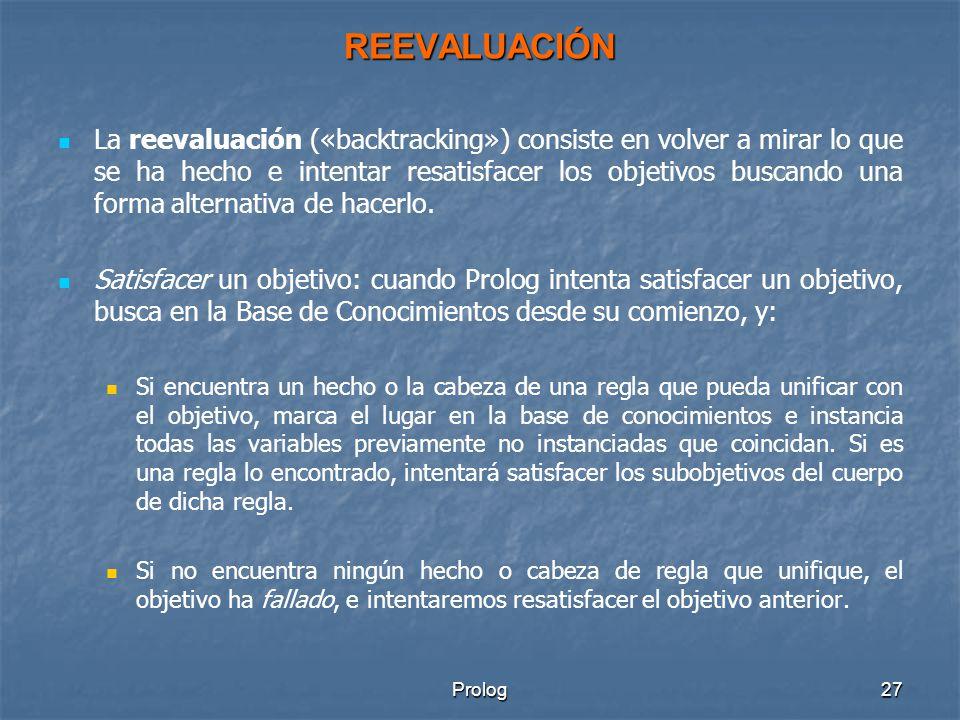REEVALUACIÓN