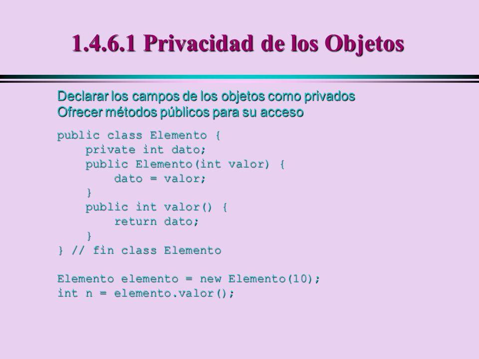 1.4.6.1 Privacidad de los Objetos