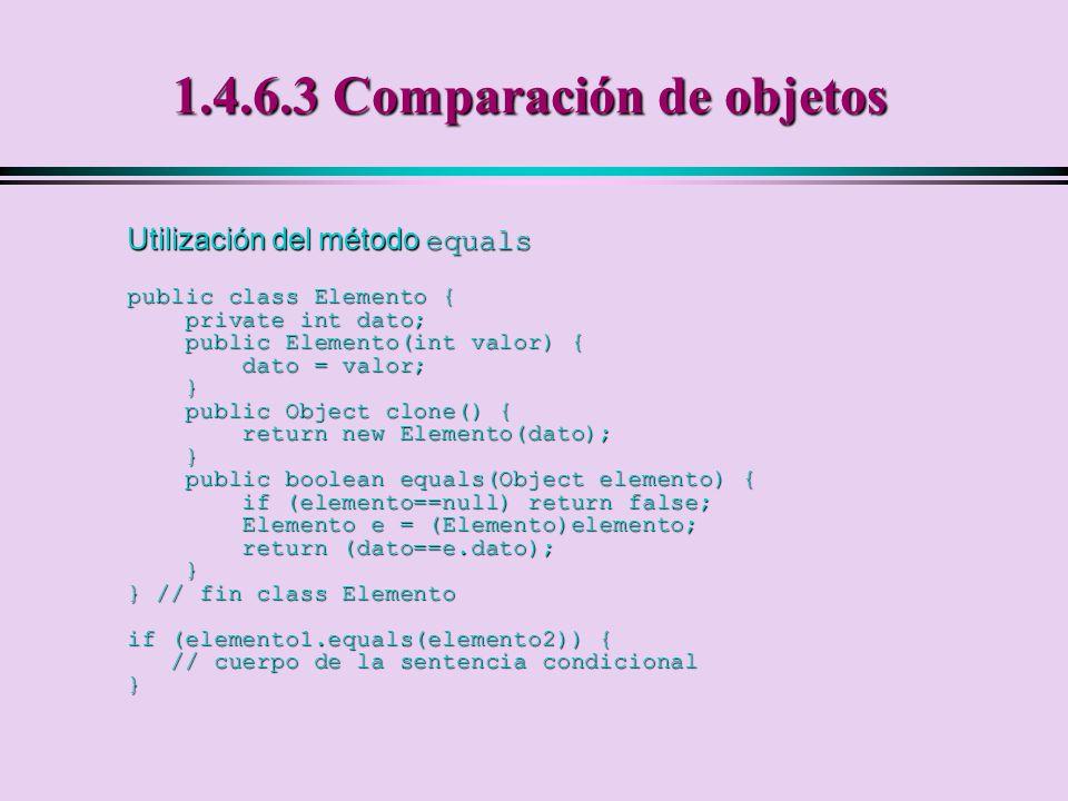 1.4.6.3 Comparación de objetos