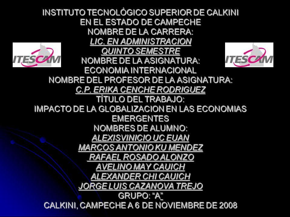 INSTITUTO TECNOLÓGICO SUPERIOR DE CALKINI EN EL ESTADO DE CAMPECHE NOMBRE DE LA CARRERA: LIC.