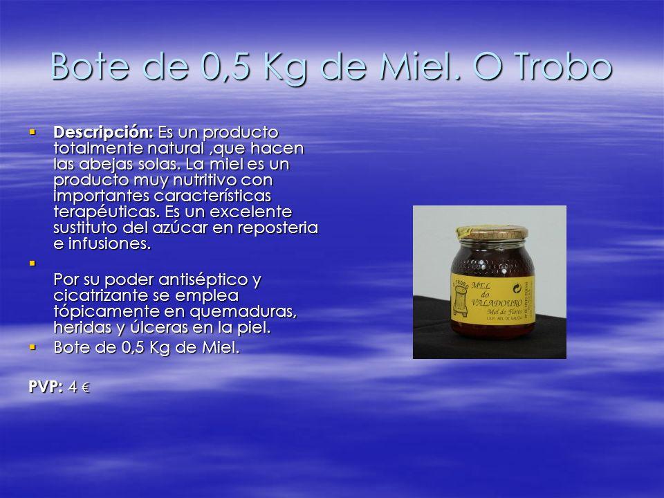 Bote de 0,5 Kg de Miel. O Trobo