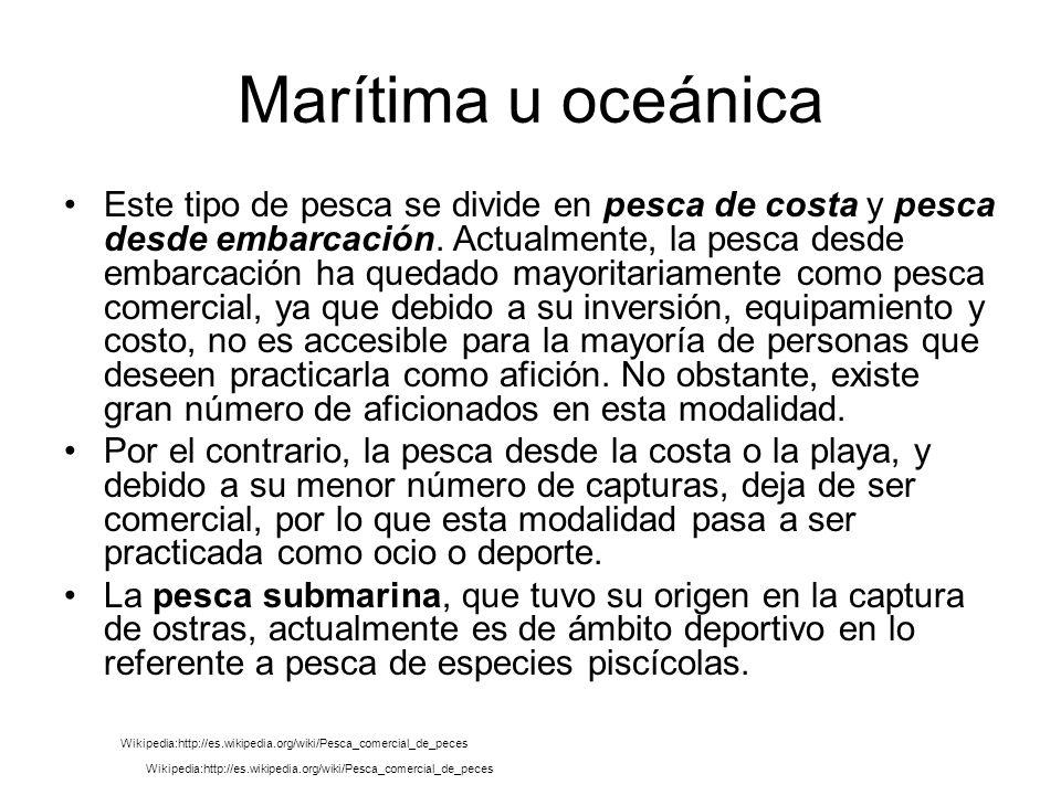 Marítima u oceánica