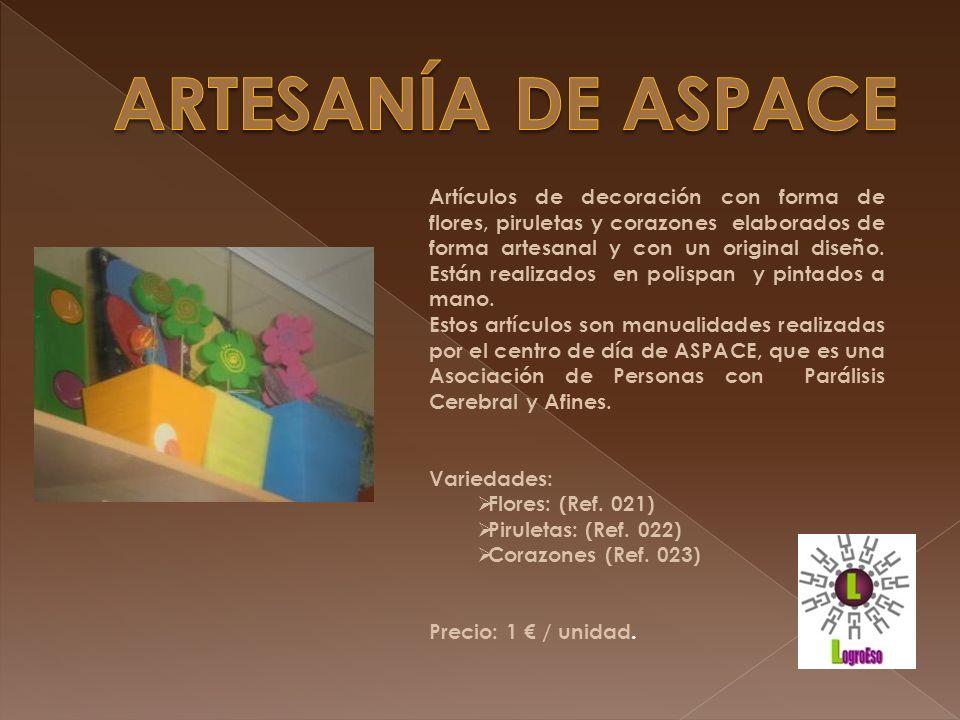 ARTESANÍA DE ASPACE