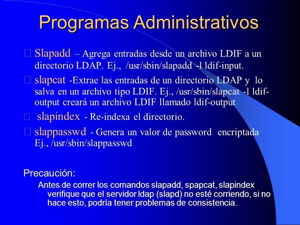 Programas Administrativos