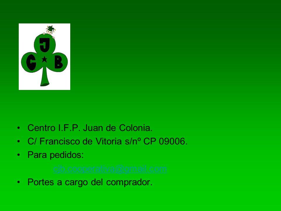 Centro I.F.P. Juan de Colonia.