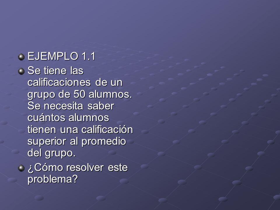 EJEMPLO 1.1