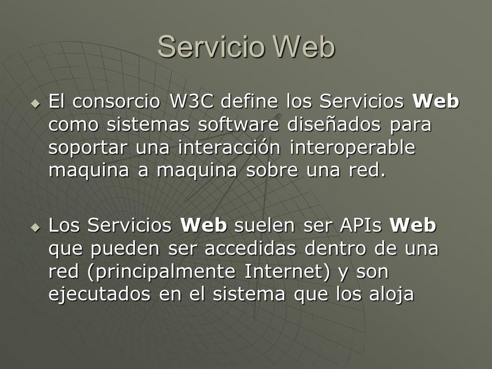 Servicio Web