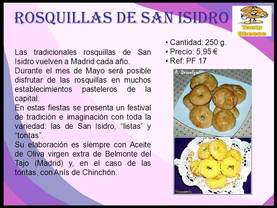 ROSQUILLAS DE SAN isidro