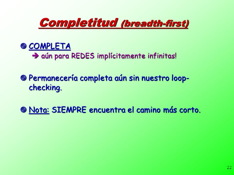 Completitud (breadth-first)