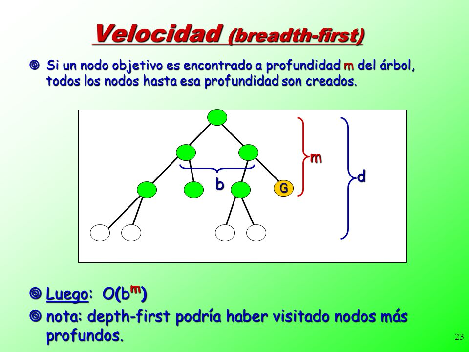 Velocidad (breadth-first)