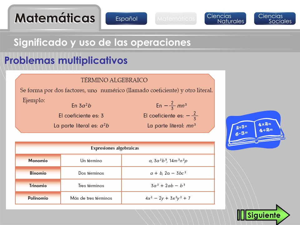 Problemas multiplicativos