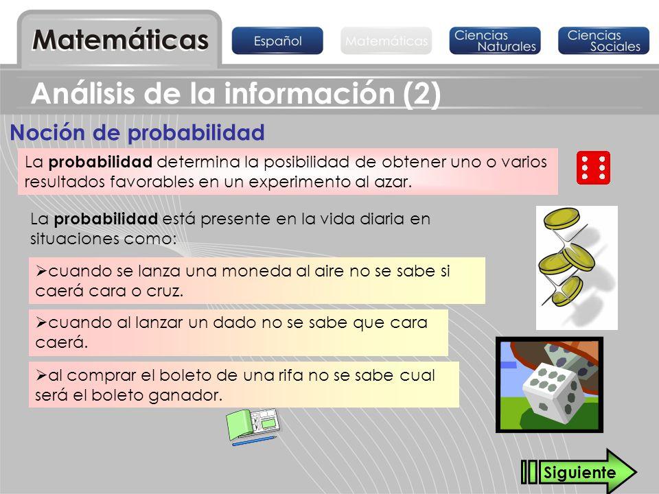 Análisis de la información (2)