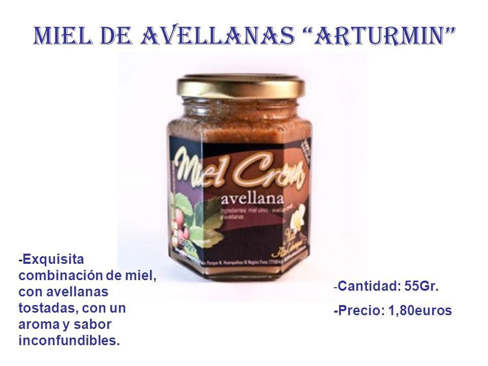 MIEL DE AVELLANAS ARTURMIN