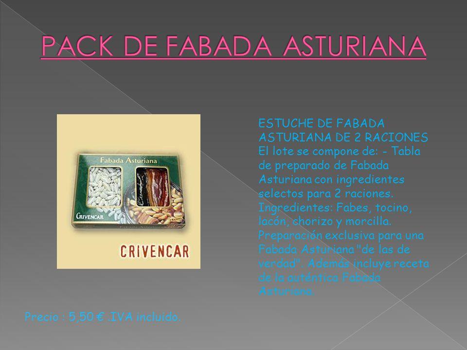 PACK DE FABADA ASTURIANA